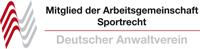 Mitglied in der ARGE Sportrecht